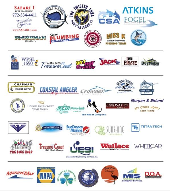 Mcac artificial reef fund we appreciate our sponsors for for Fishing sponsor shirts