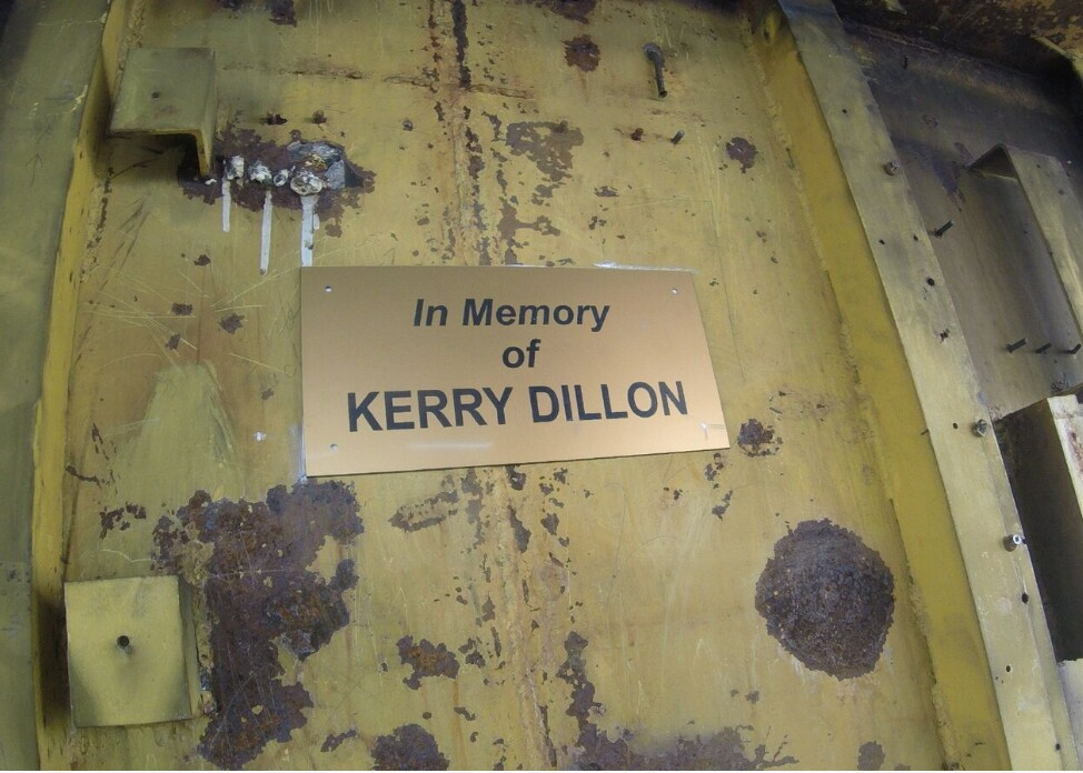 MCAC Artificial Reef Fund - MCAC Honors Kerry L  Dillon, Sea Rover