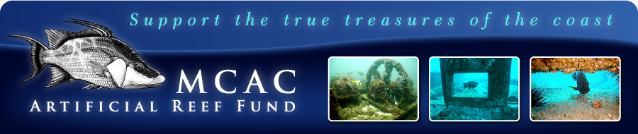 MCAC Artificial Reef Fund
